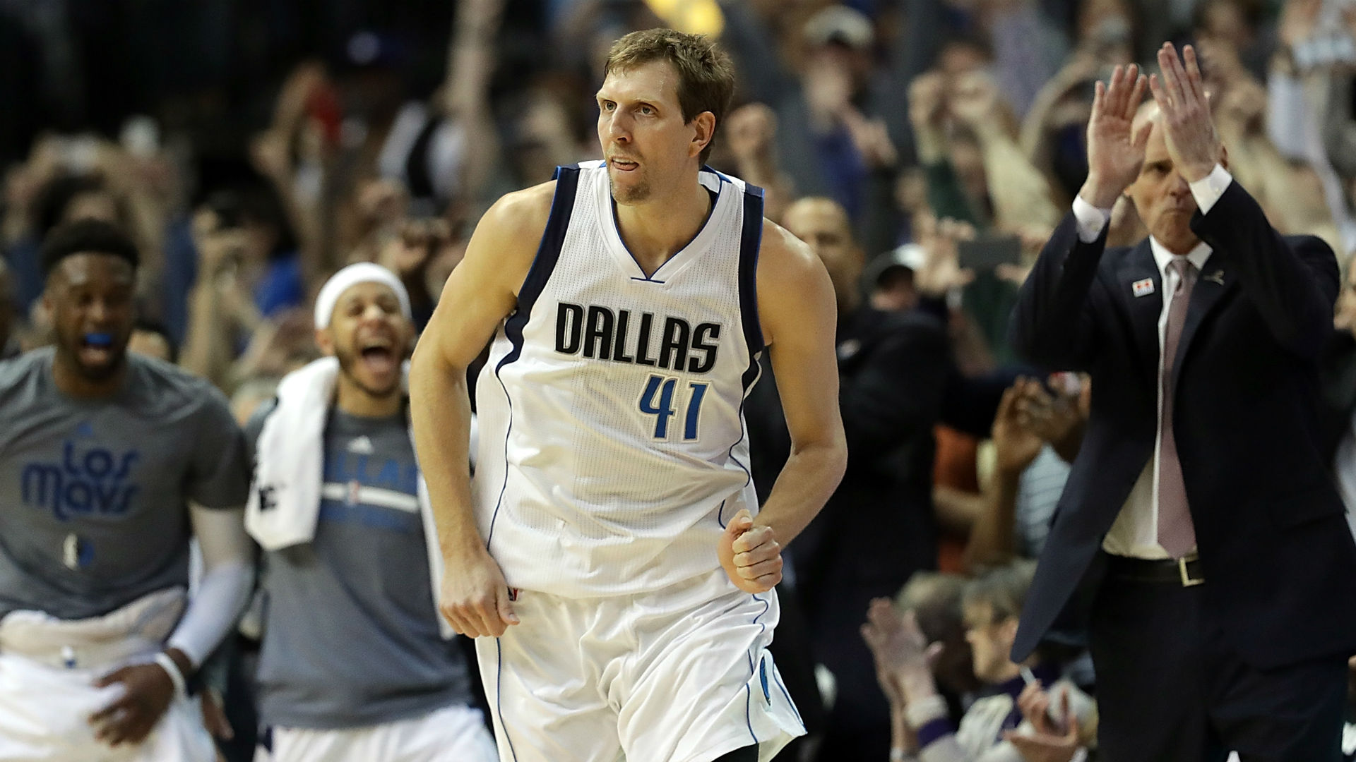 Dirk Nowitzki named Teammate of the Year
