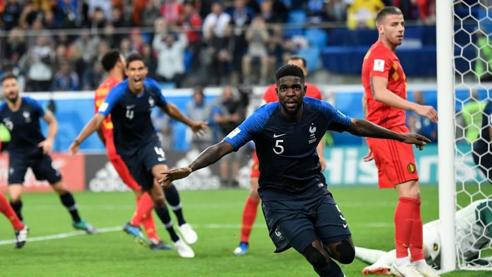 Umtiti goal World Cup France FTR