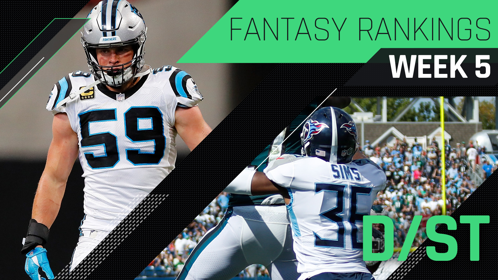 Week 5 Fantasy Football Rankings: Defense