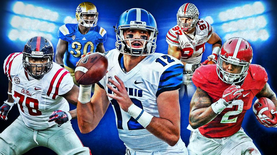 Best Of The 2016 NFL Draft Class Ranking Five Most Coveted Players At Each Position