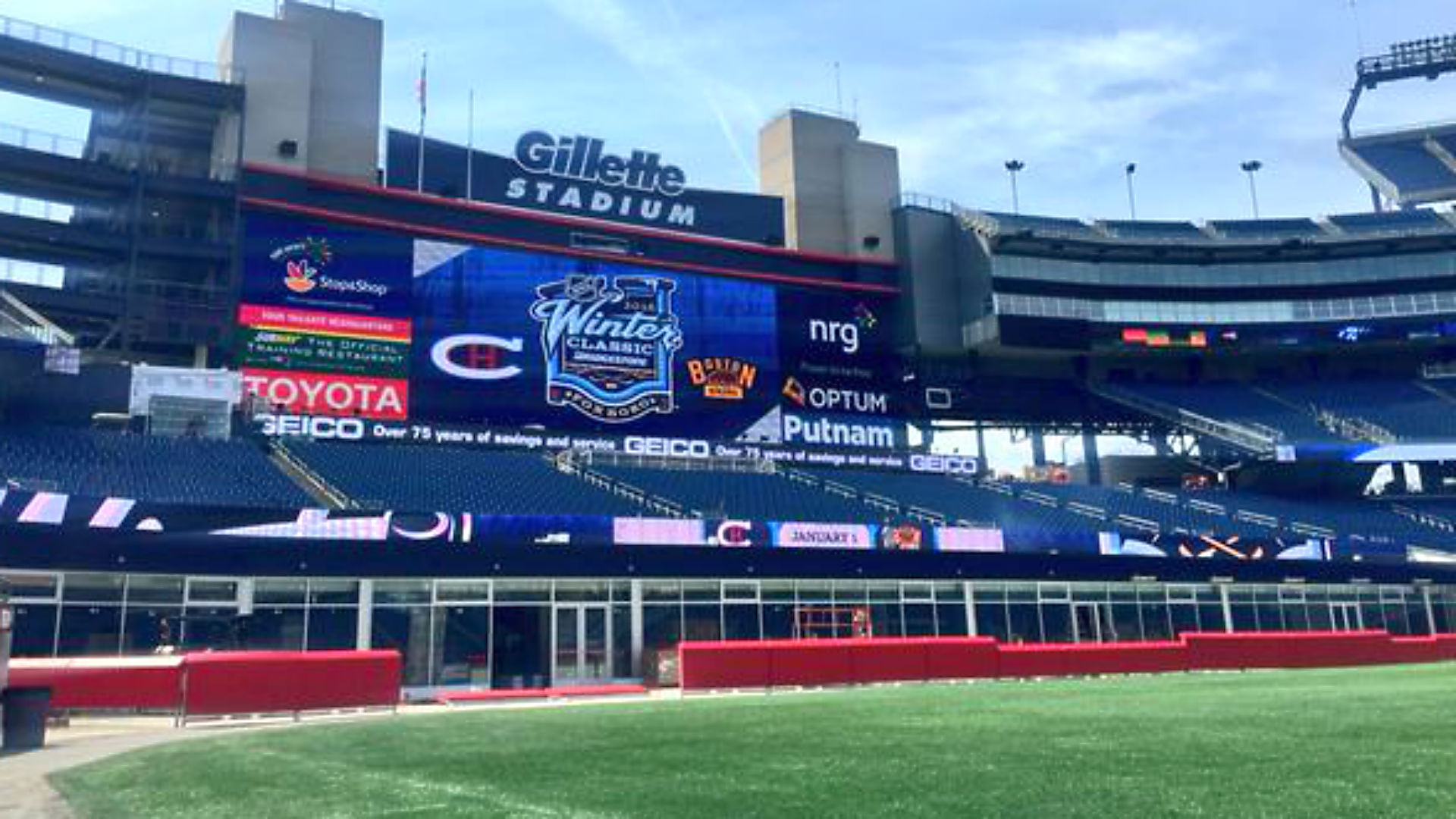 Coolest thing in Boston? 2016 Winter Classic announcement