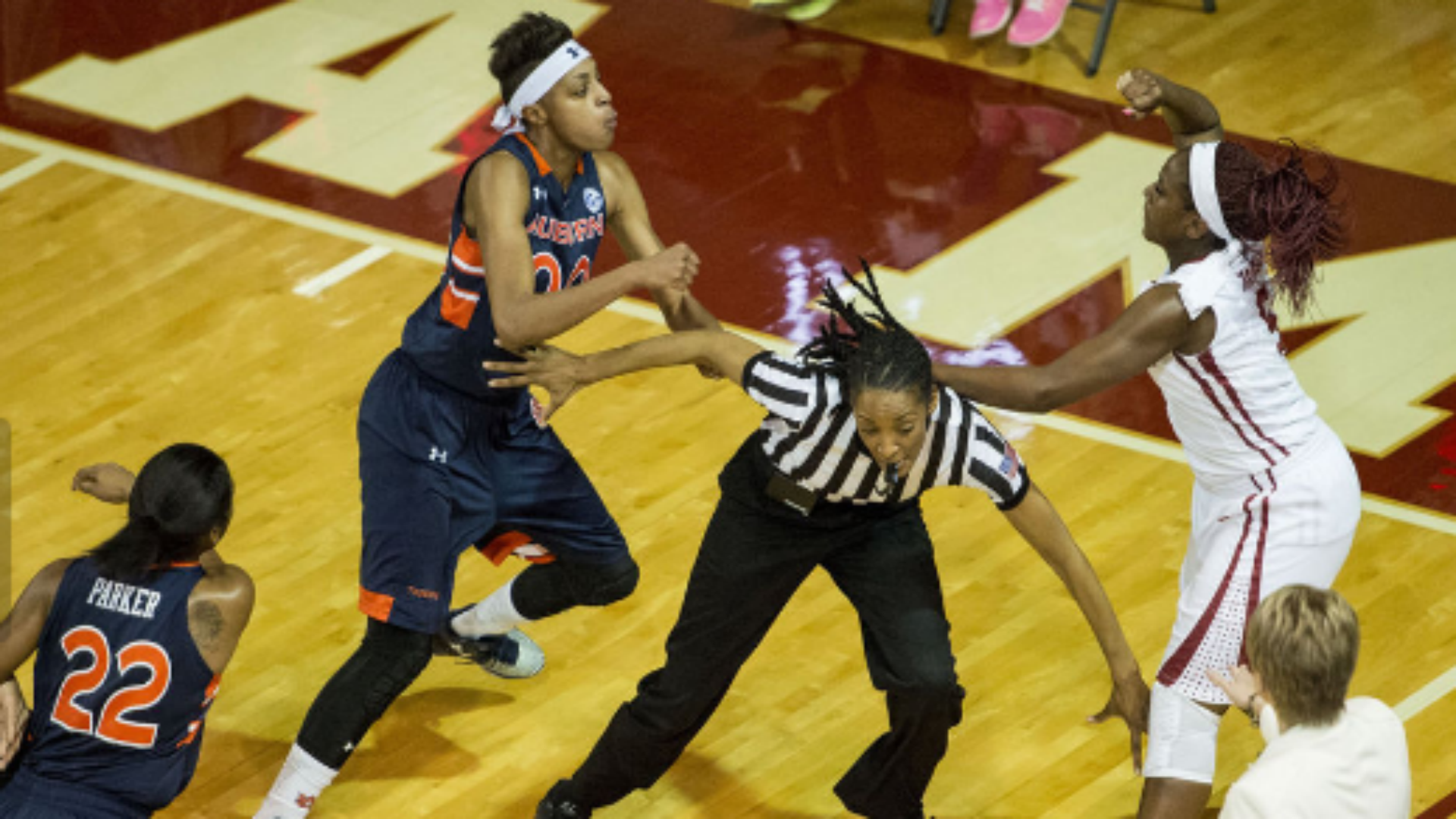 Alabama, Auburn women brawl; three players ejected | NCAA ...
