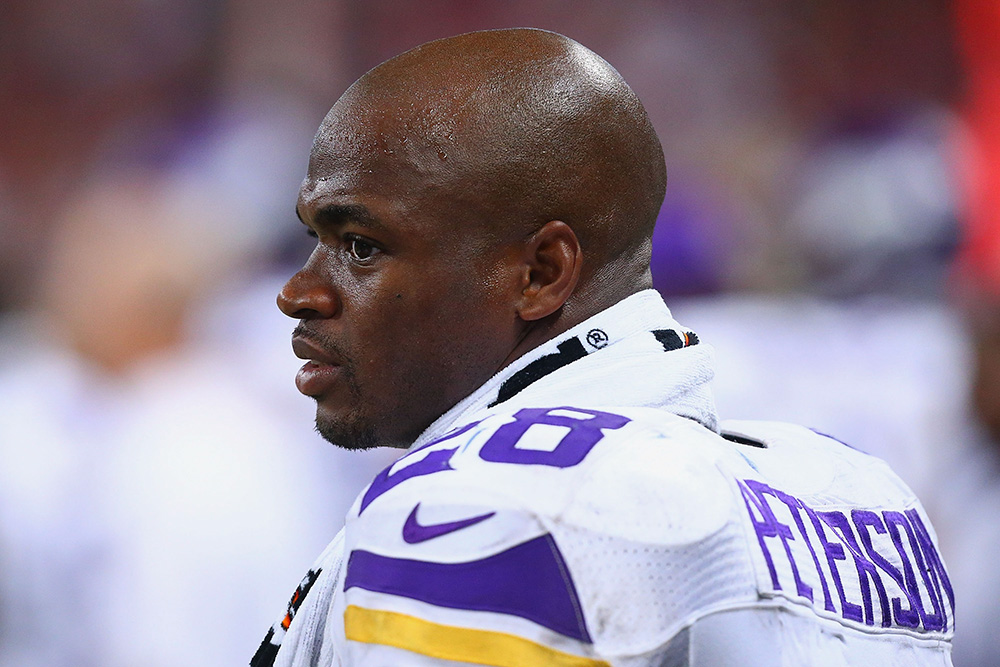 Adrian Peterson, RB, Vikings