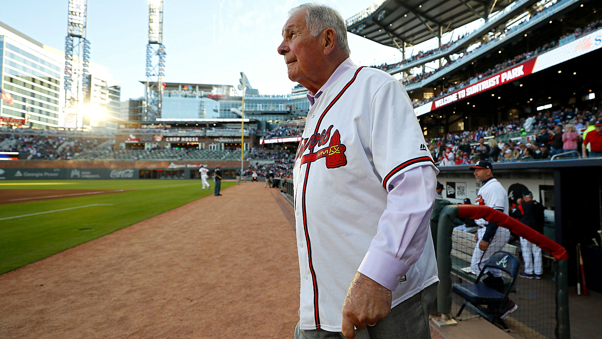 Former Braves manager Bobby Cox hospitalized