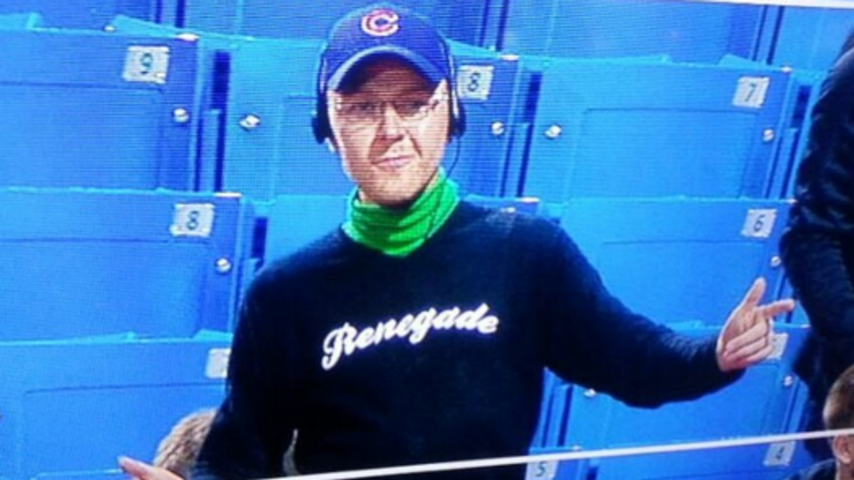 Fan Dresses Up As Steve Bartman At A Cubs Game Mlb Sporting News