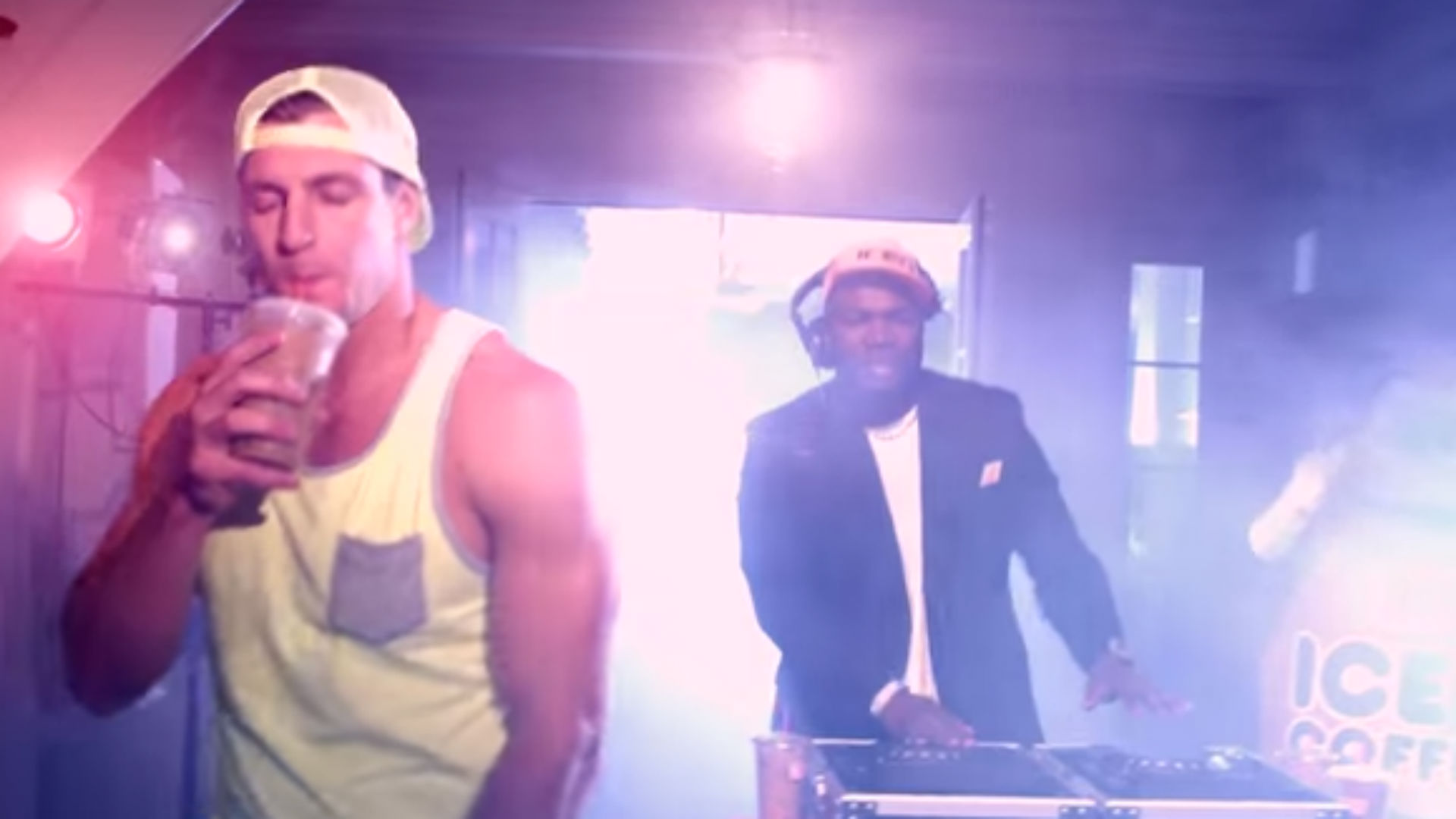 Rob Gronkowski and David Ortiz get auto-tuned for Dunkin' Donuts single