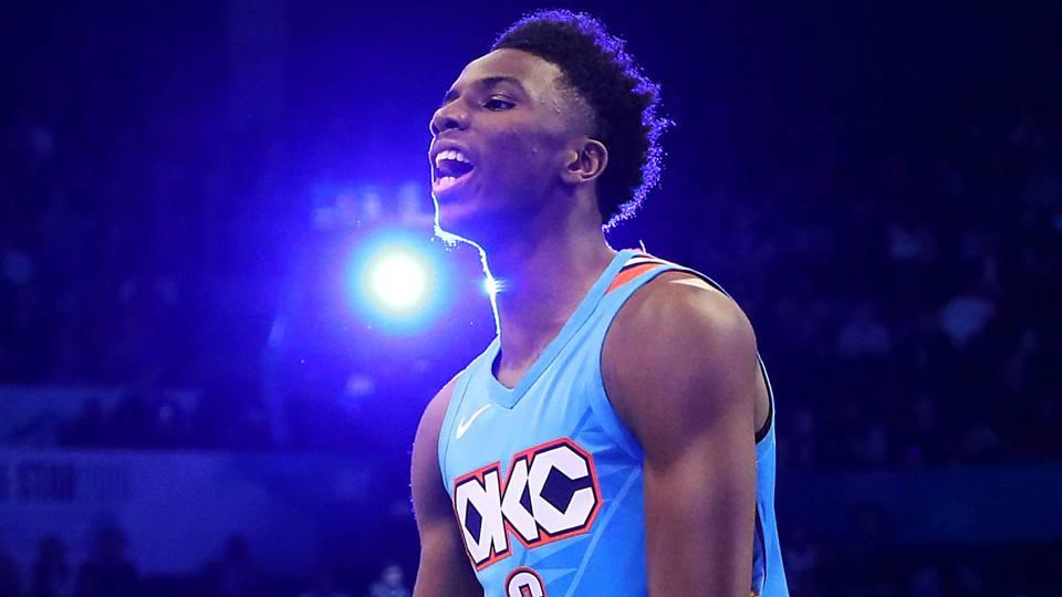 NBA Slam Dunk Contest 2019  Results d81c3ea50d