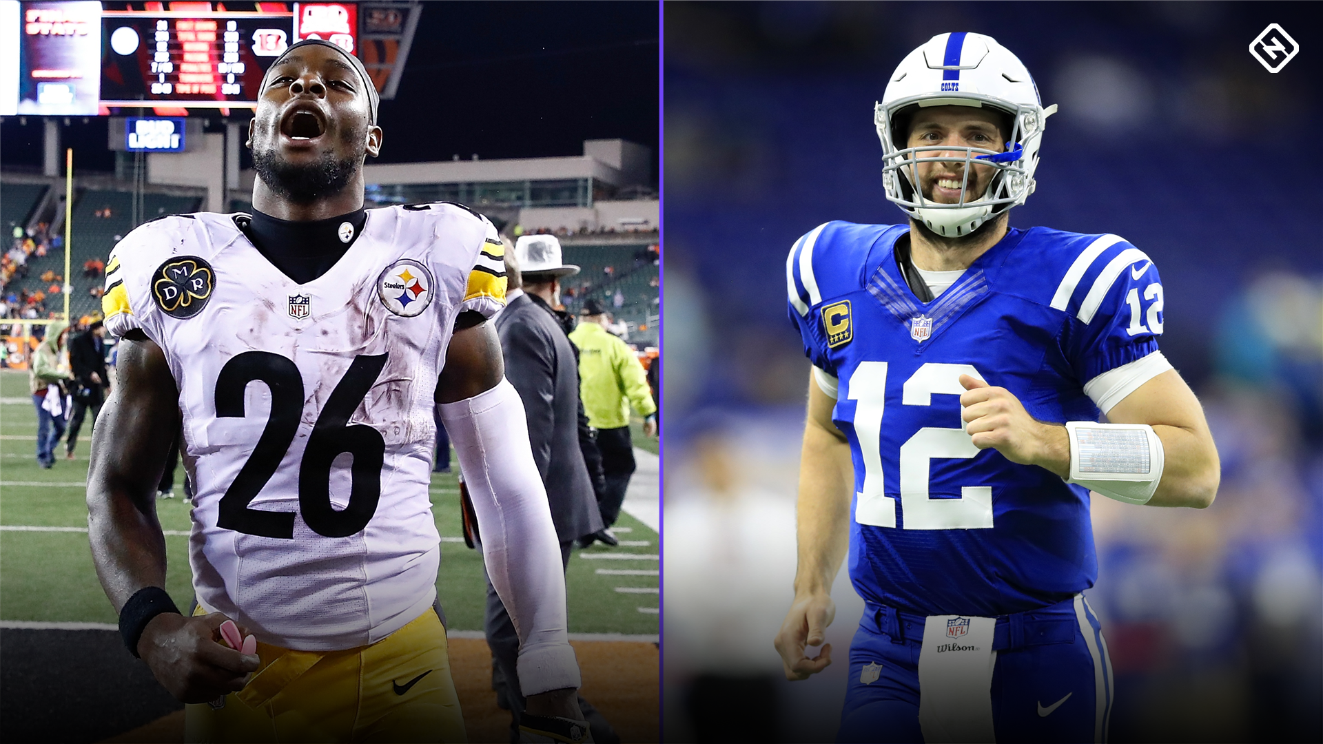 Le'Veon Bell speculates about playing with Andrew Luck, sparking Colts rumors