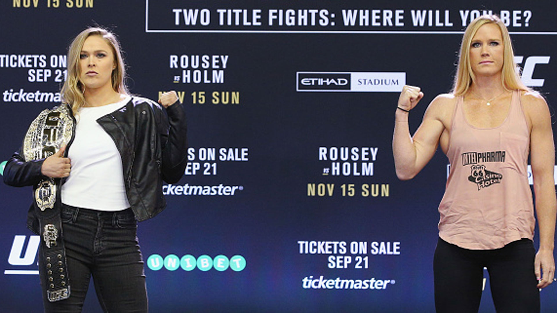 Ufc 193 preview: ronda rousey vs. holly holm.