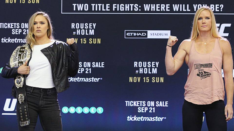 ronda-rousey-holly-holm-UFC-101515-getty-ftr