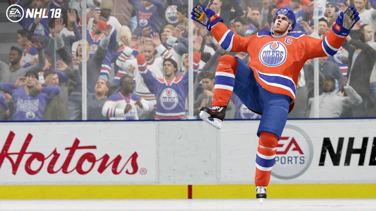 NHL 18 Connor McDavid