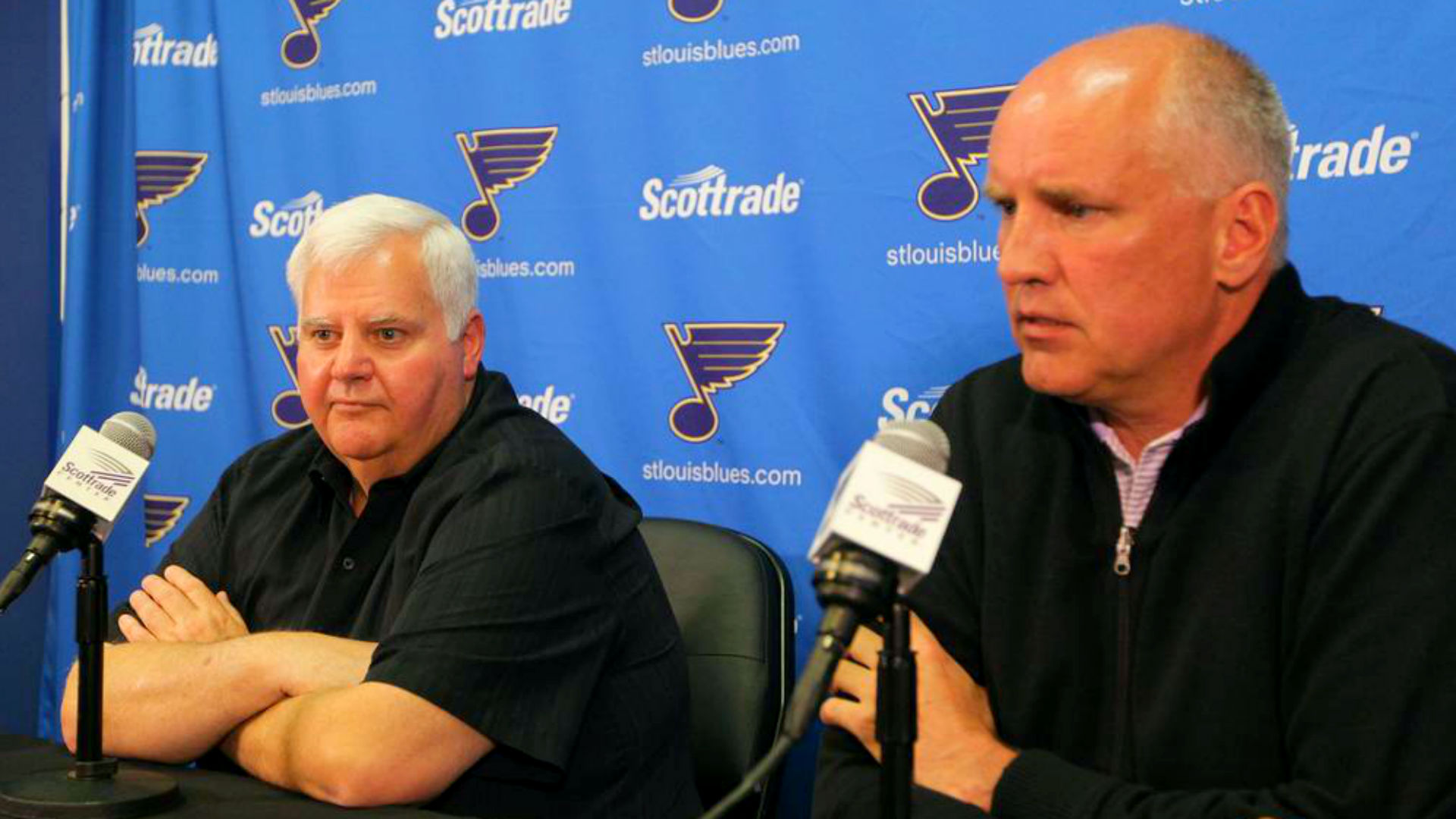 Ken Hitchcock gets one more chance to end Blues' playoff failures