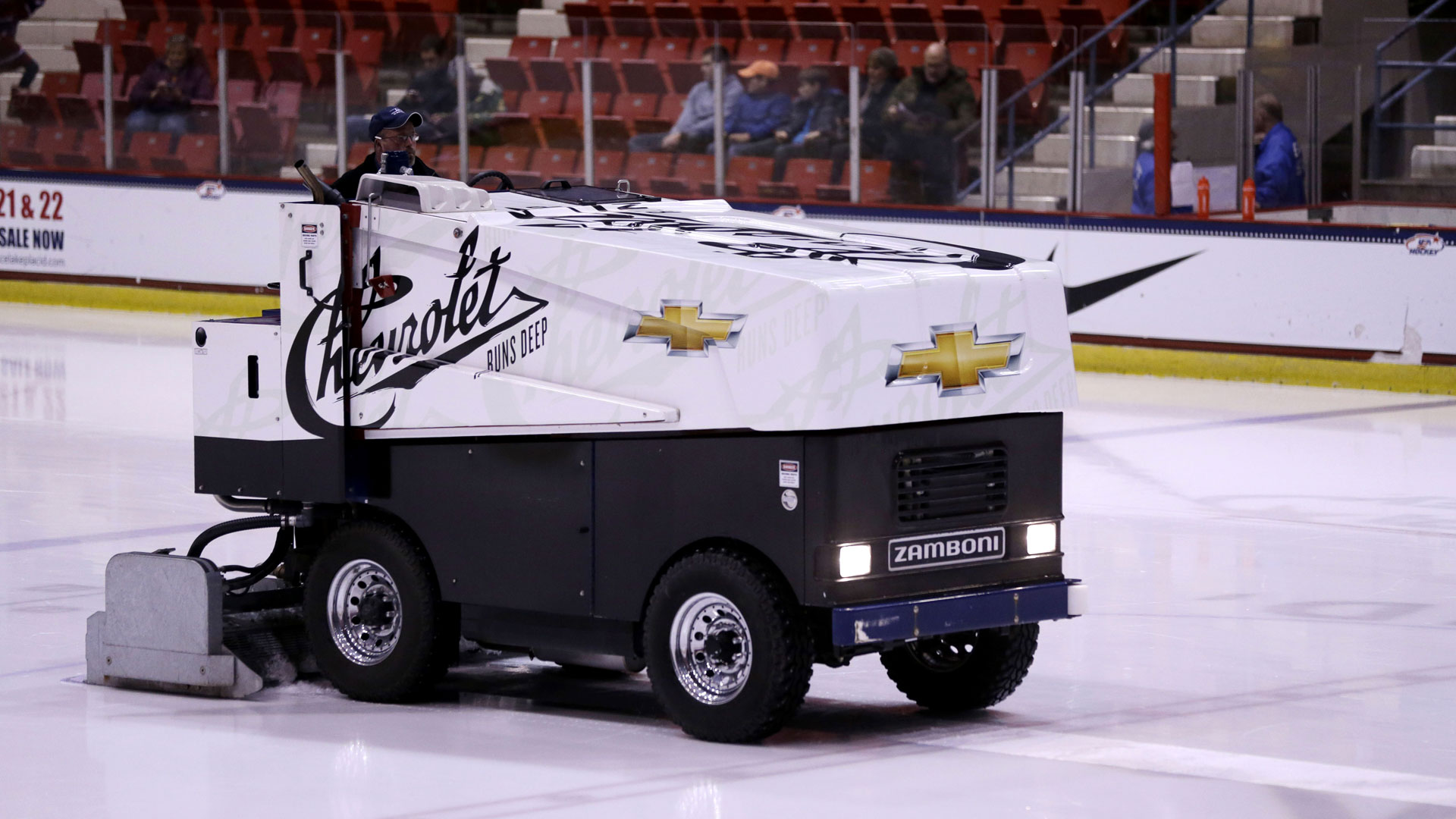 Zamboni driver arrested on dui charges nhl sporting news for Home zamboni