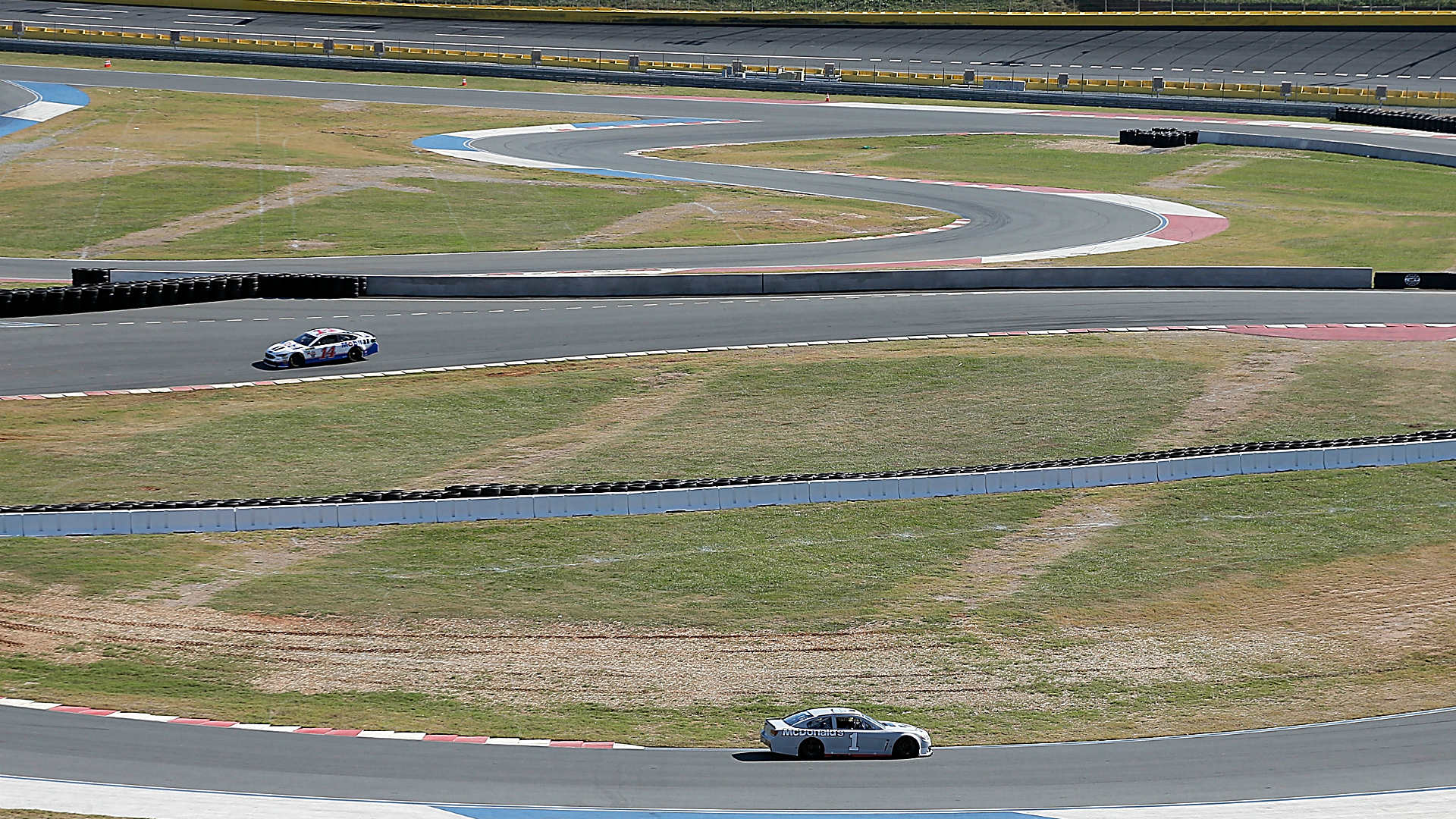 Charlotte Motor Speedway road course layout is now faster after modifications