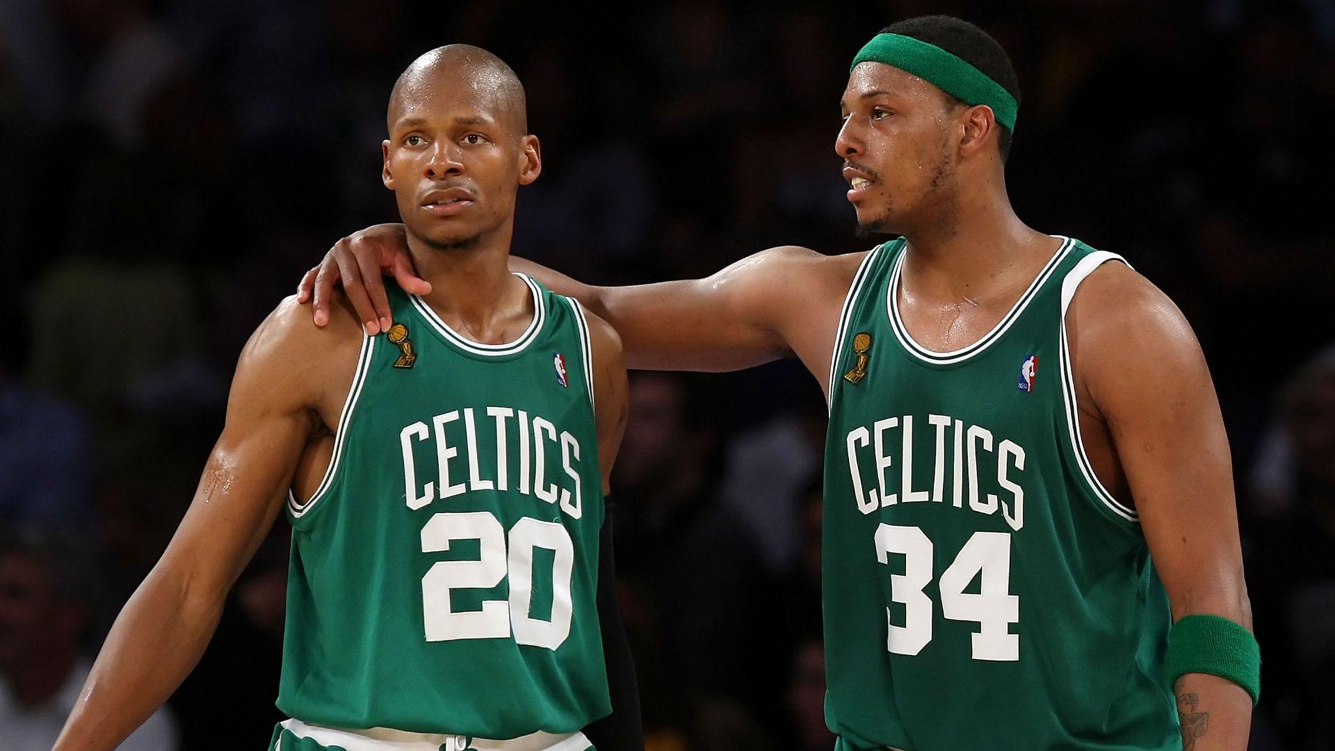 Paul Pierce says it's time to bury the hatchet with Ray Allen