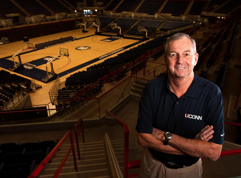 Jim Calhoun: career in photos