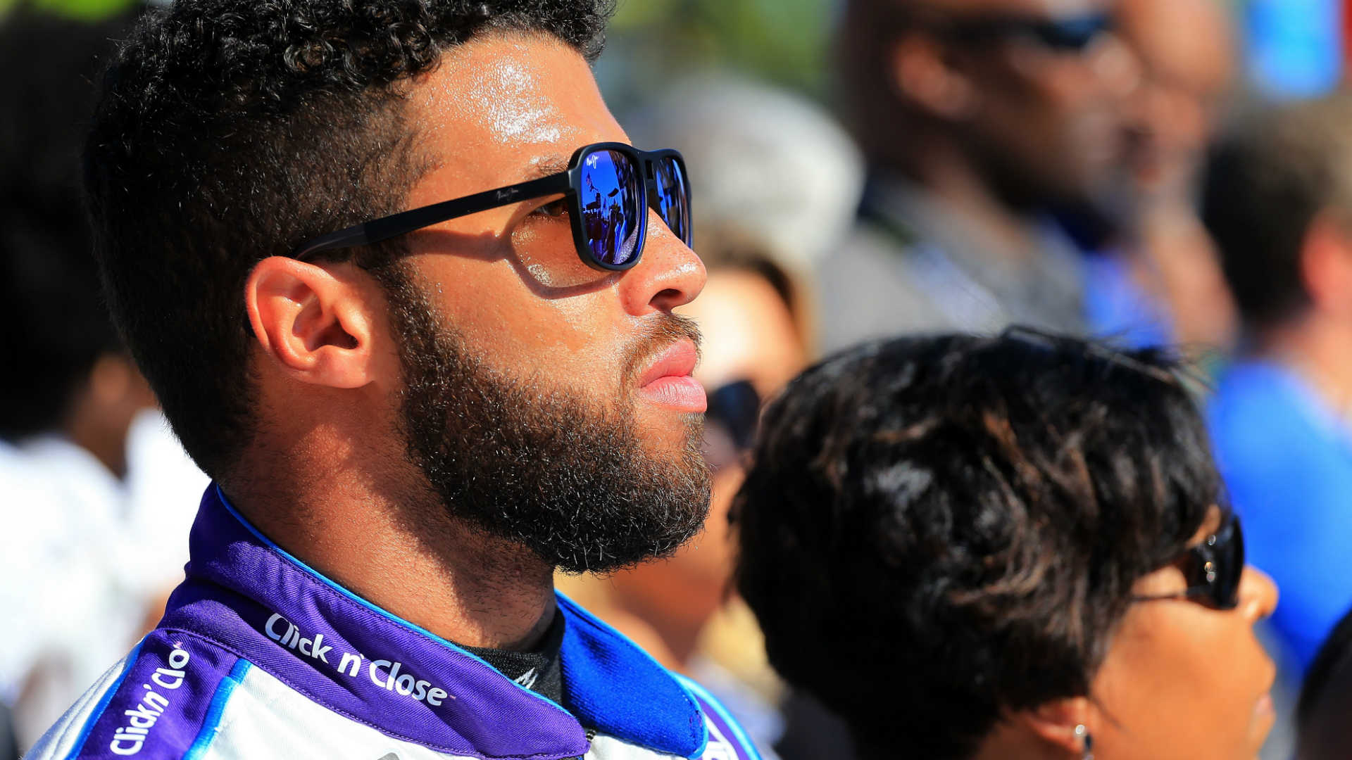 Darrell 'Bubba' Wallace Jr. tearful after runner-up Daytona 500 finish