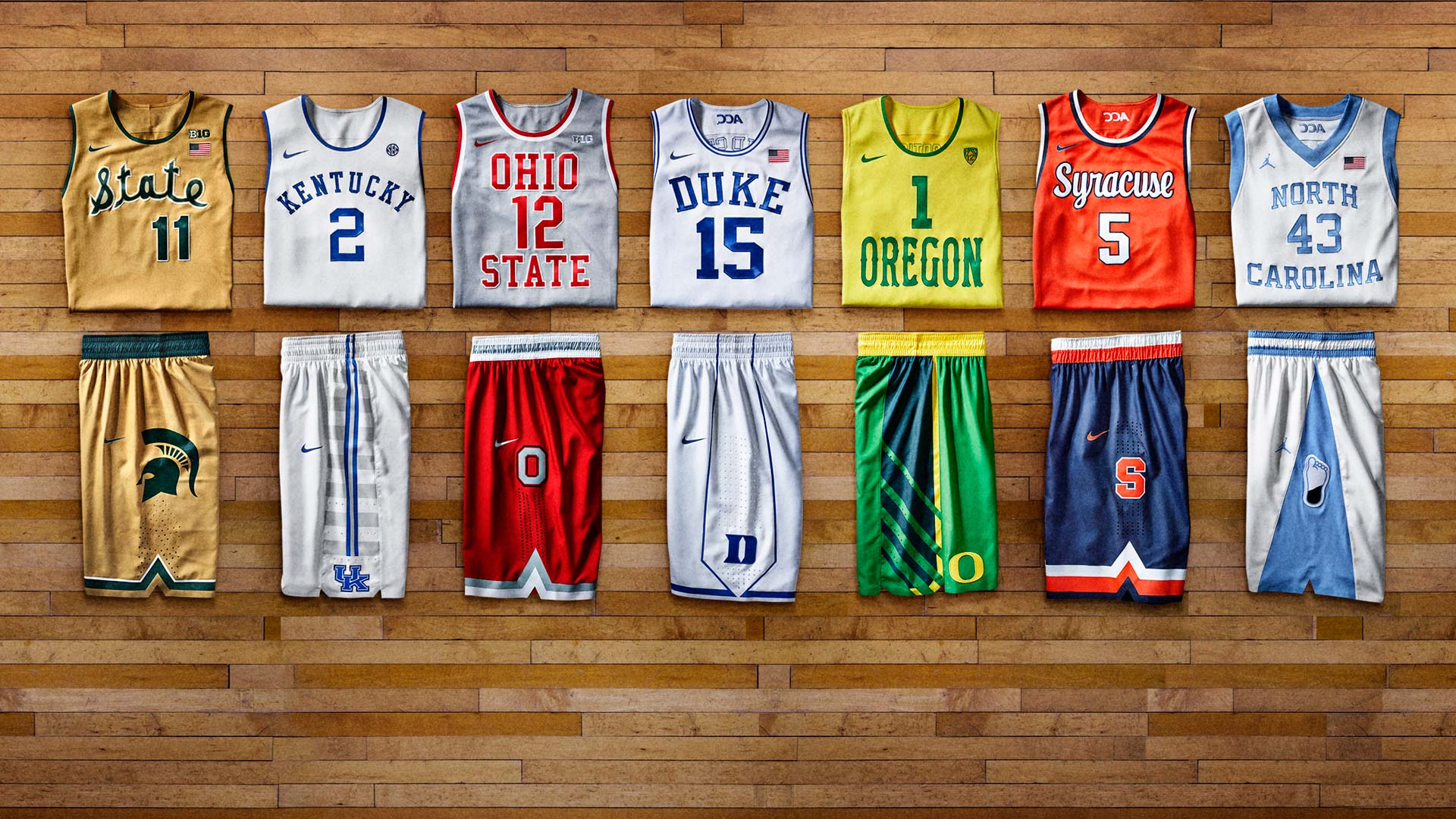 Nike rolls out retro uniforms for Duke, Kentucky, UNC ...