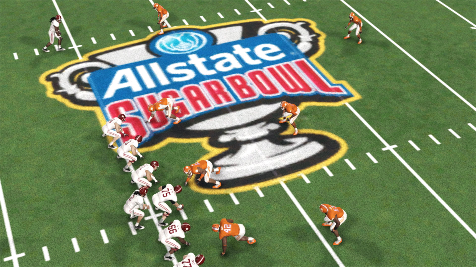 No. 4 Alabama vs No. 1 Clemson in the Sugar Bowl