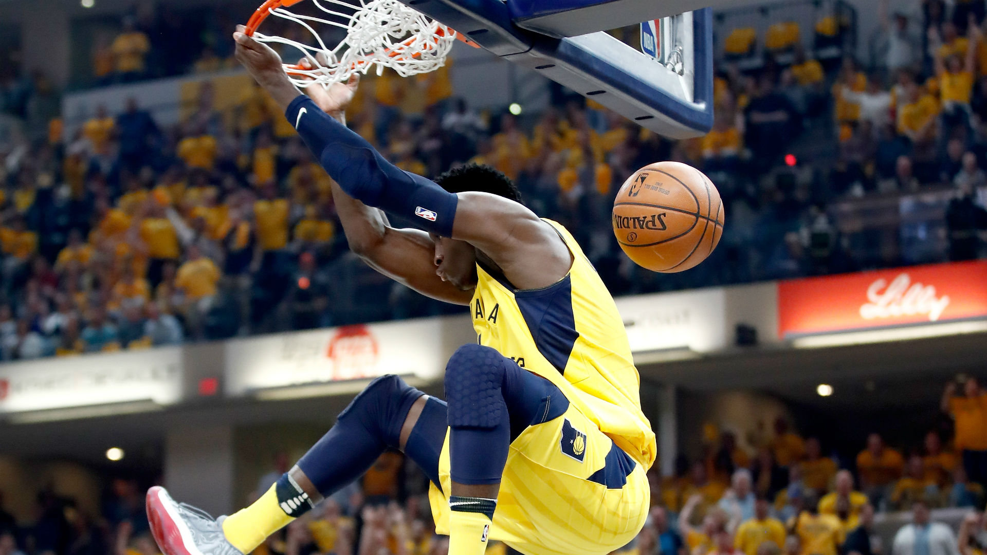 Victor Oladipo insists LeBron James' late block was a goaltend