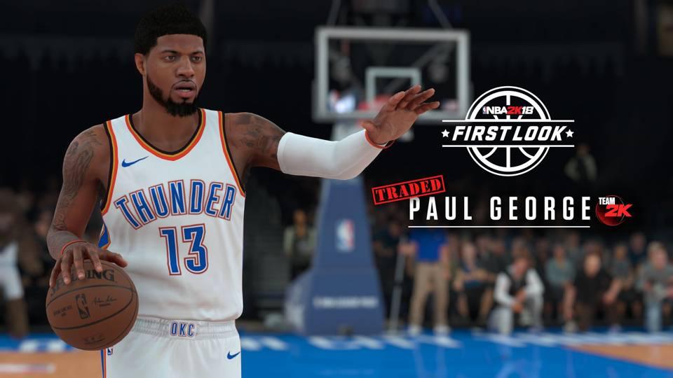 f463d7b76d8 NBA 2K19 Screenshot - Paul George (Overall Rating - 89) Overrated ...