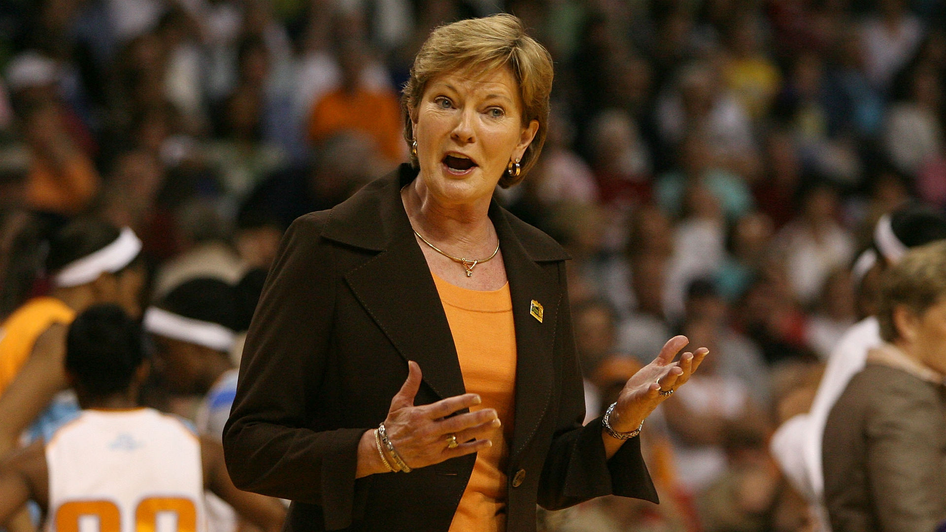 pat summitt Pat summitt touched the lives of many (1:45) bruce pearl, kara lawson, peyton manning, kim mulkey, trey wingo and mechelle voepel share their thoughts on the life and career of hall of fame coach.