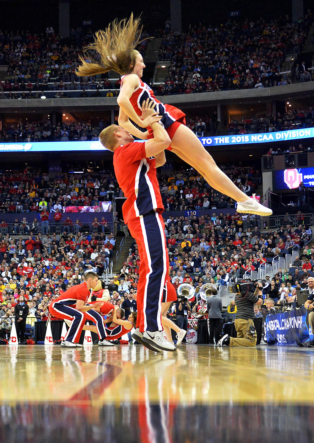 What is it like to be a male cheerleader?