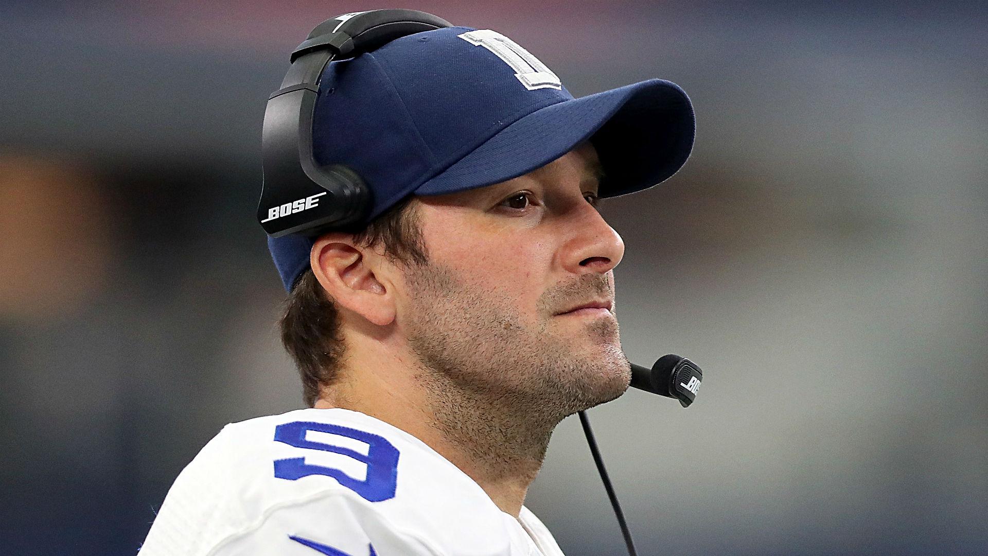 Tony Romo choosing TV ...
