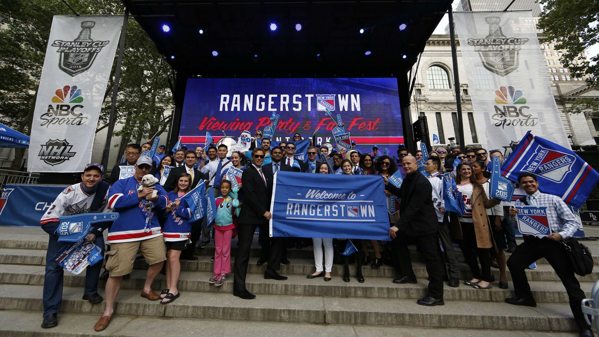 Doesn't matter if Rangers or Lightning lose, sponsor Chase already a winner