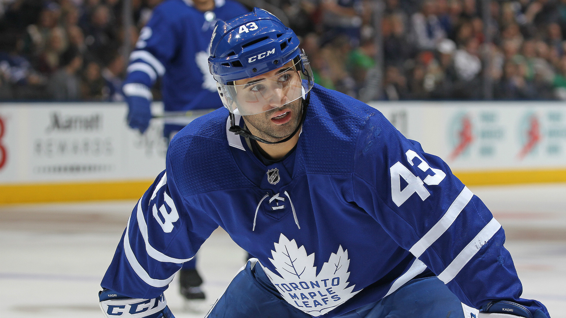 Leafs' Kadri suspended for 3 games for hit on Bruins' Wingels