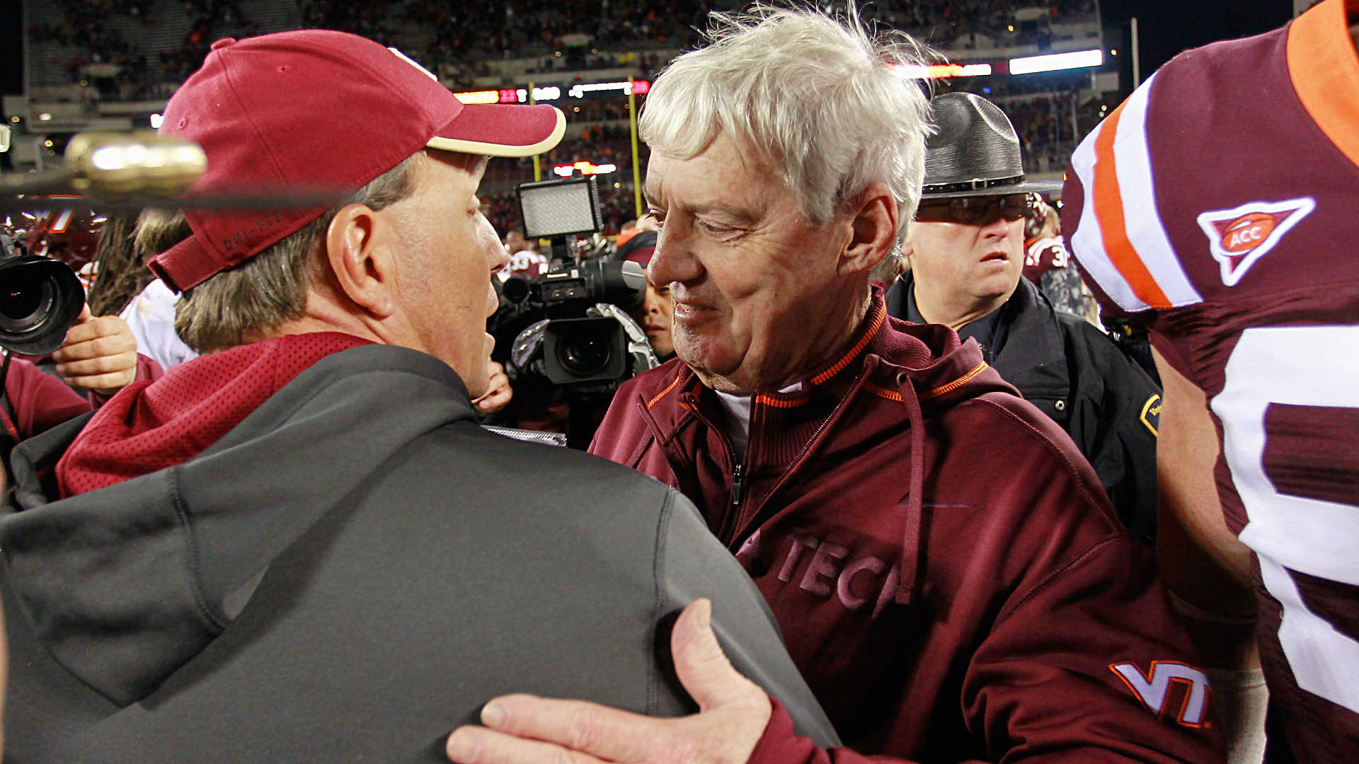 Frank Beamer-Jimbo Fisher-112815-GETTY-FTR