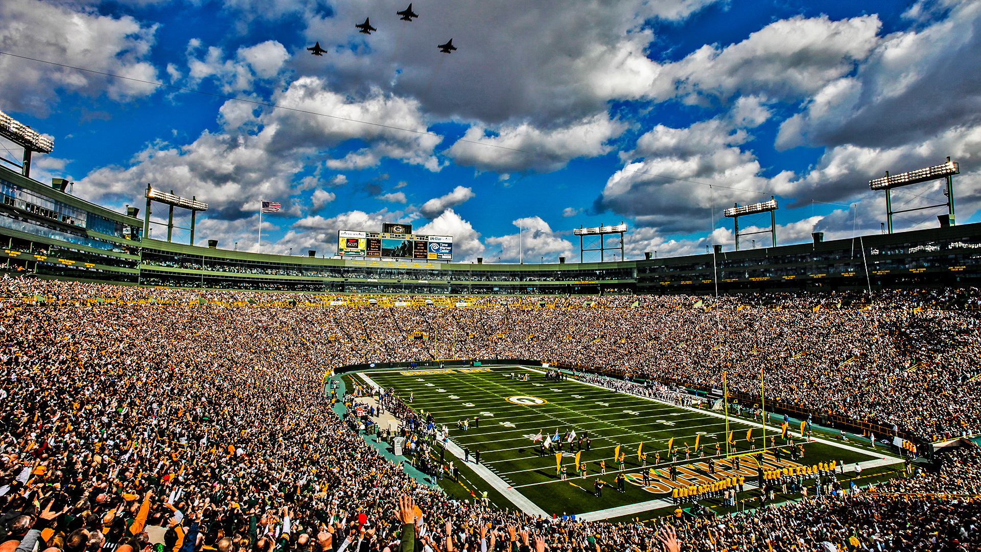 lambeau field wallpaper