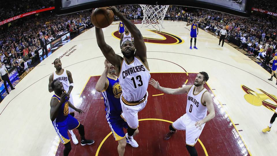 NBA Finals 2017: Tristan Thompson goes on expletive-laden rant after Game 4 win   NBA   Sporting ...