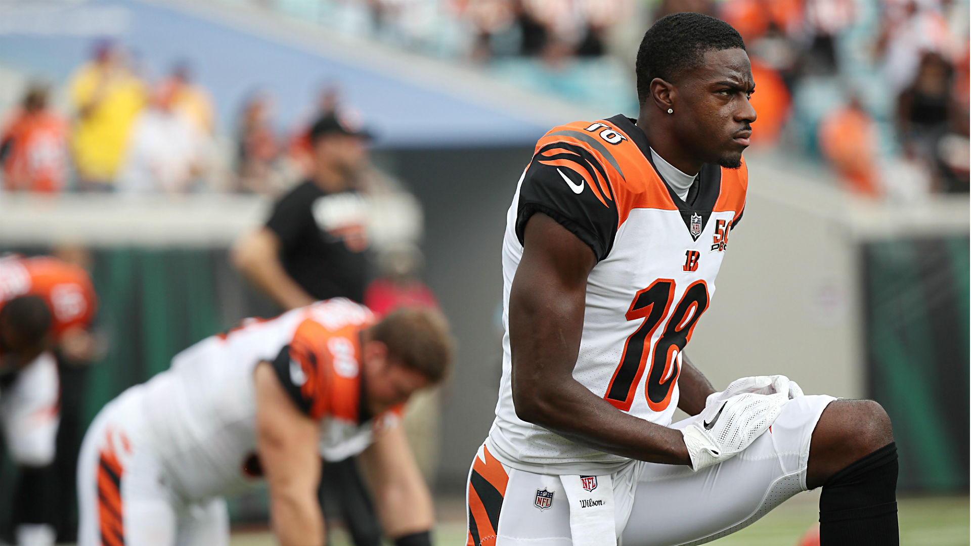 Bengals are a mess again so no wonder A J Green would snap