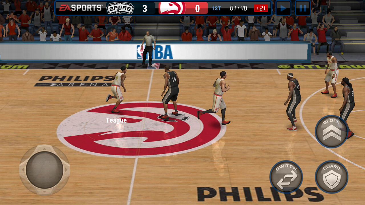 cddd582d6 Review  NBA Live Mobile shows great promise in rookie season