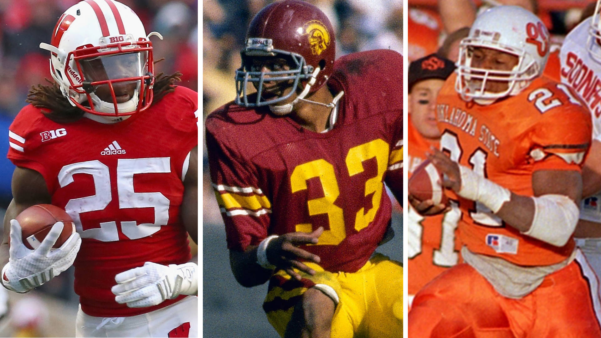 Top 10 Barry Sanders All Time Single Season Rushing Leaders