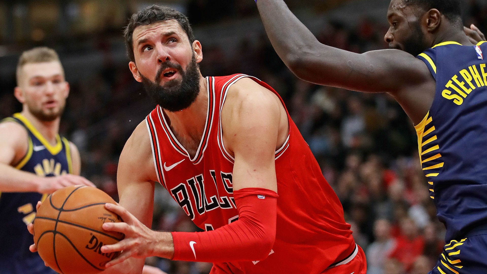 Pistons interested in Nikola Mirotic trade with Bulls