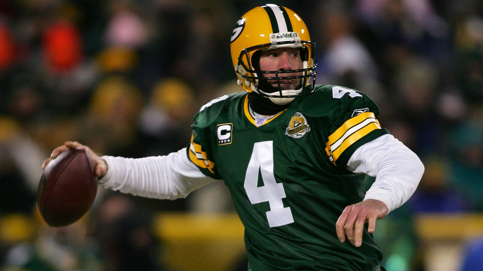 897f1c9a8 Report  Packers to retire Brett Favre s No. 4 on Thanksgiving · NFL