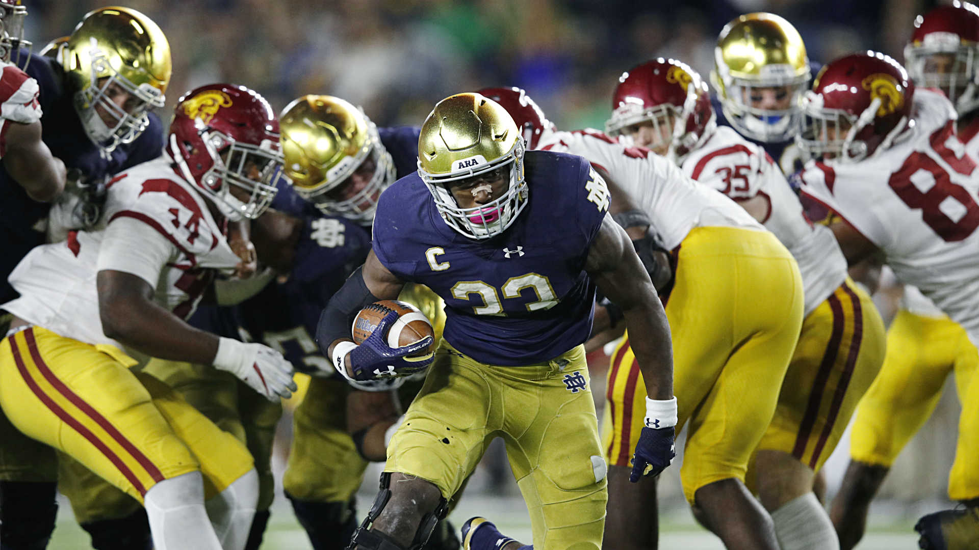 Notre Dame s Josh Adams should have a spot on your Heisman ballot
