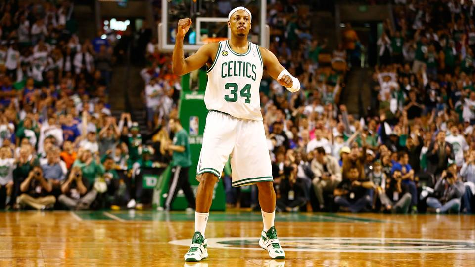 Paul Pierce feels all the love from Celtics fans in Boston ...