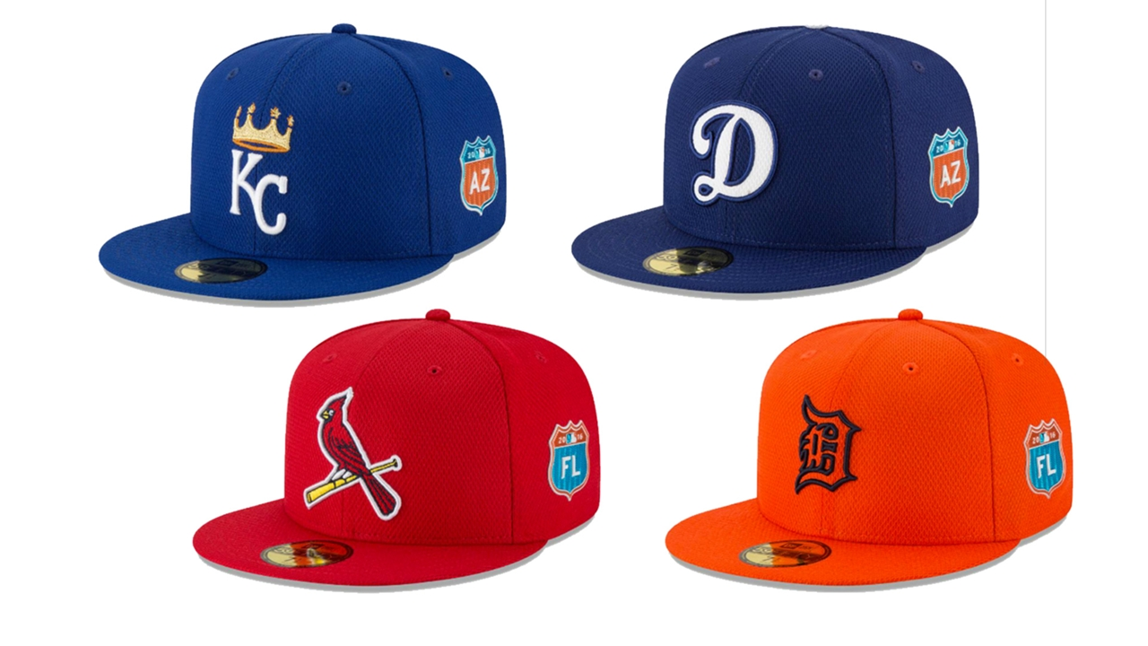 The best and worst of MLB s new spring training caps  435a7950f04