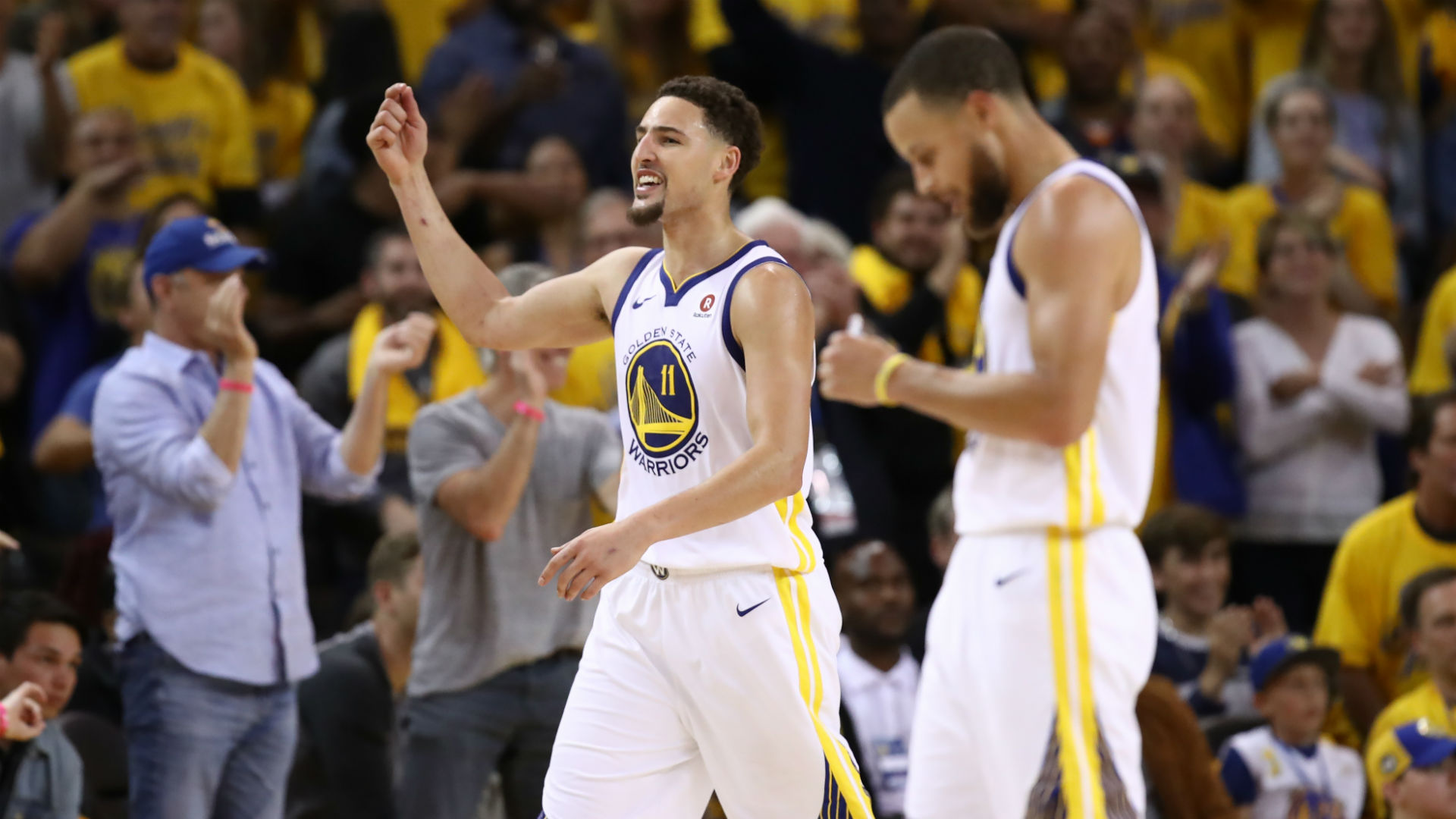Warriors reach 4th straight NBA Finals with win over Houston