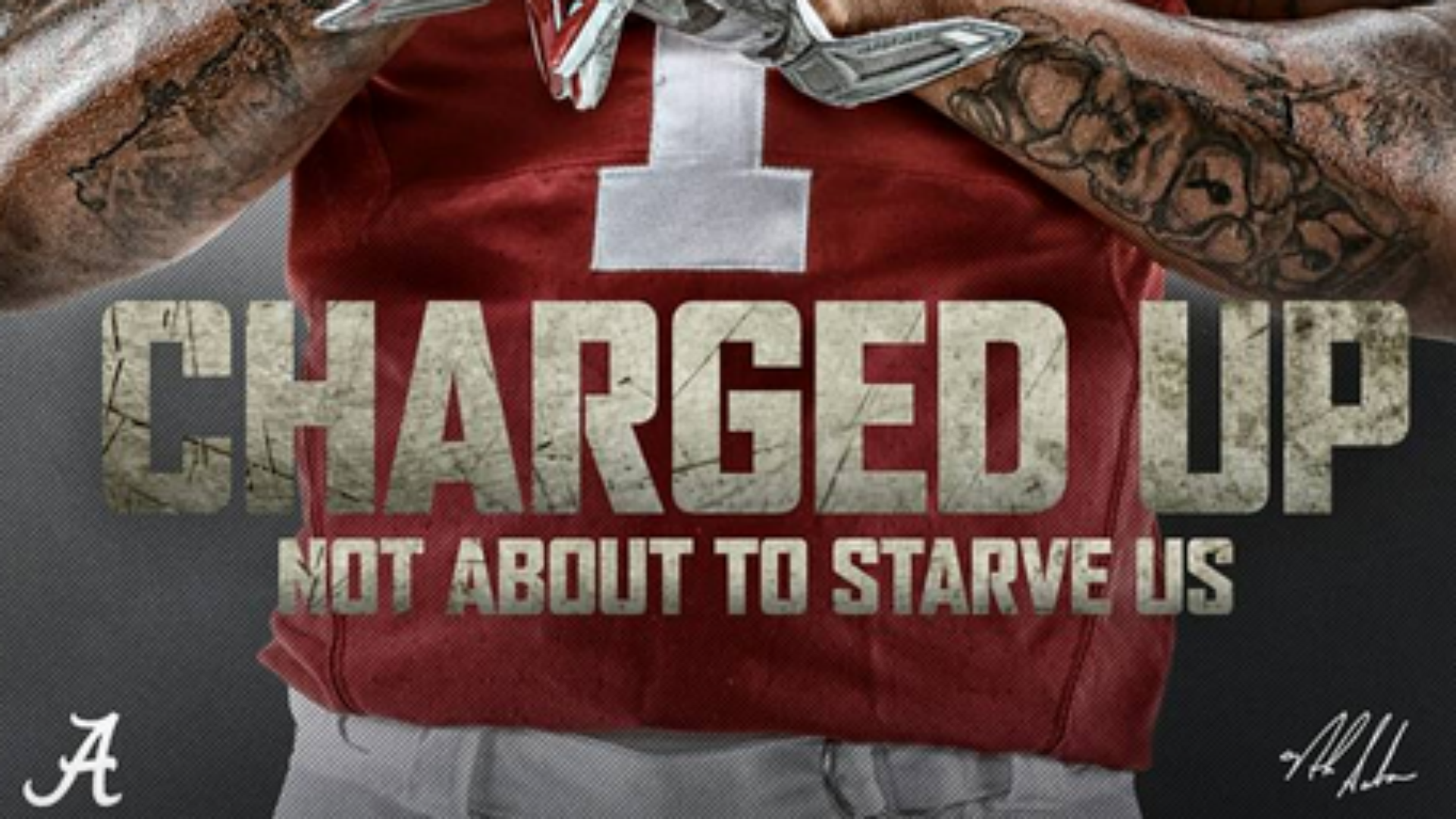 Alabama uses Drake's single 'Charged up' as inspiration