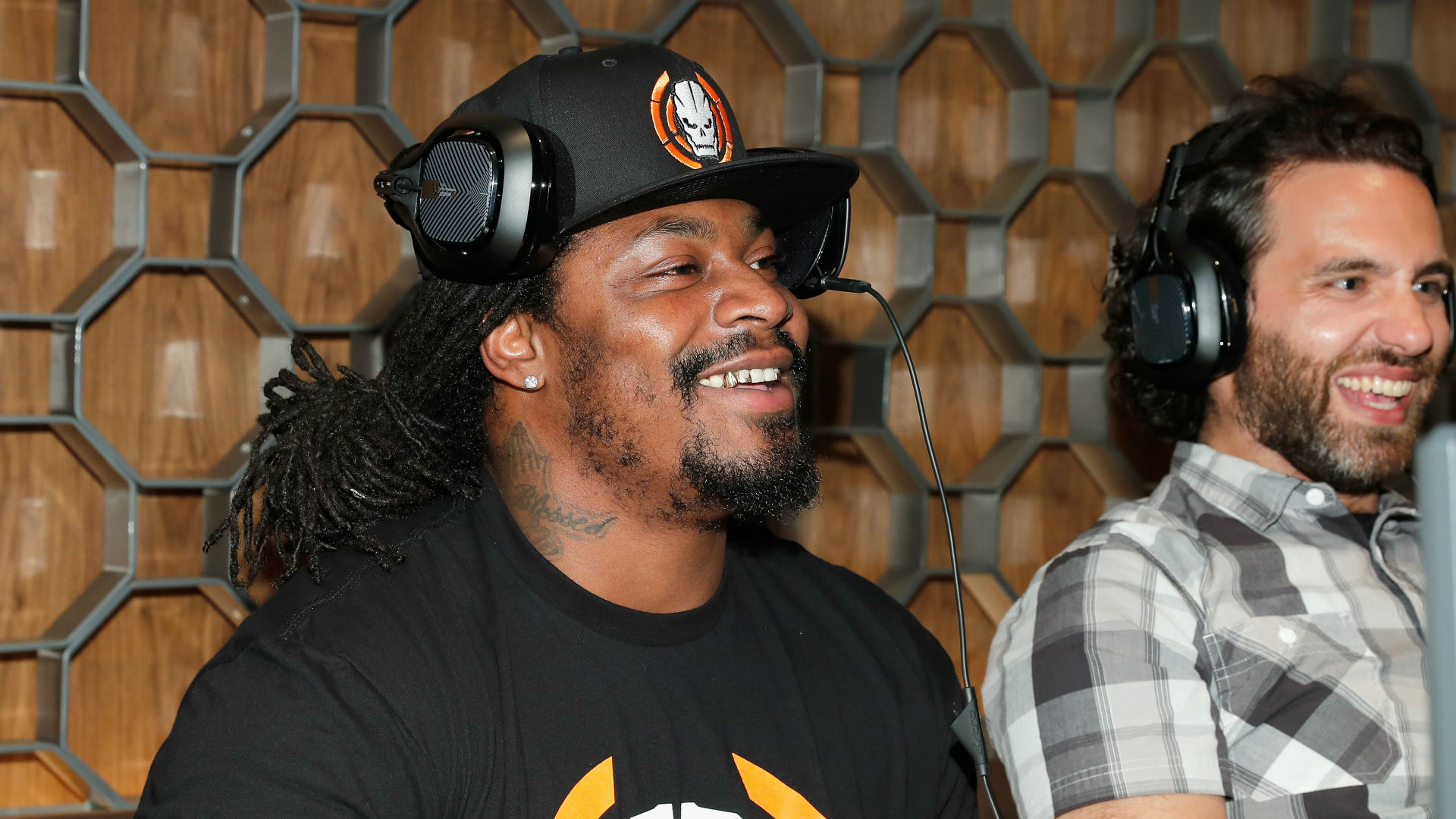 Marshawn Lynch In Video That Mocks Tom Brady