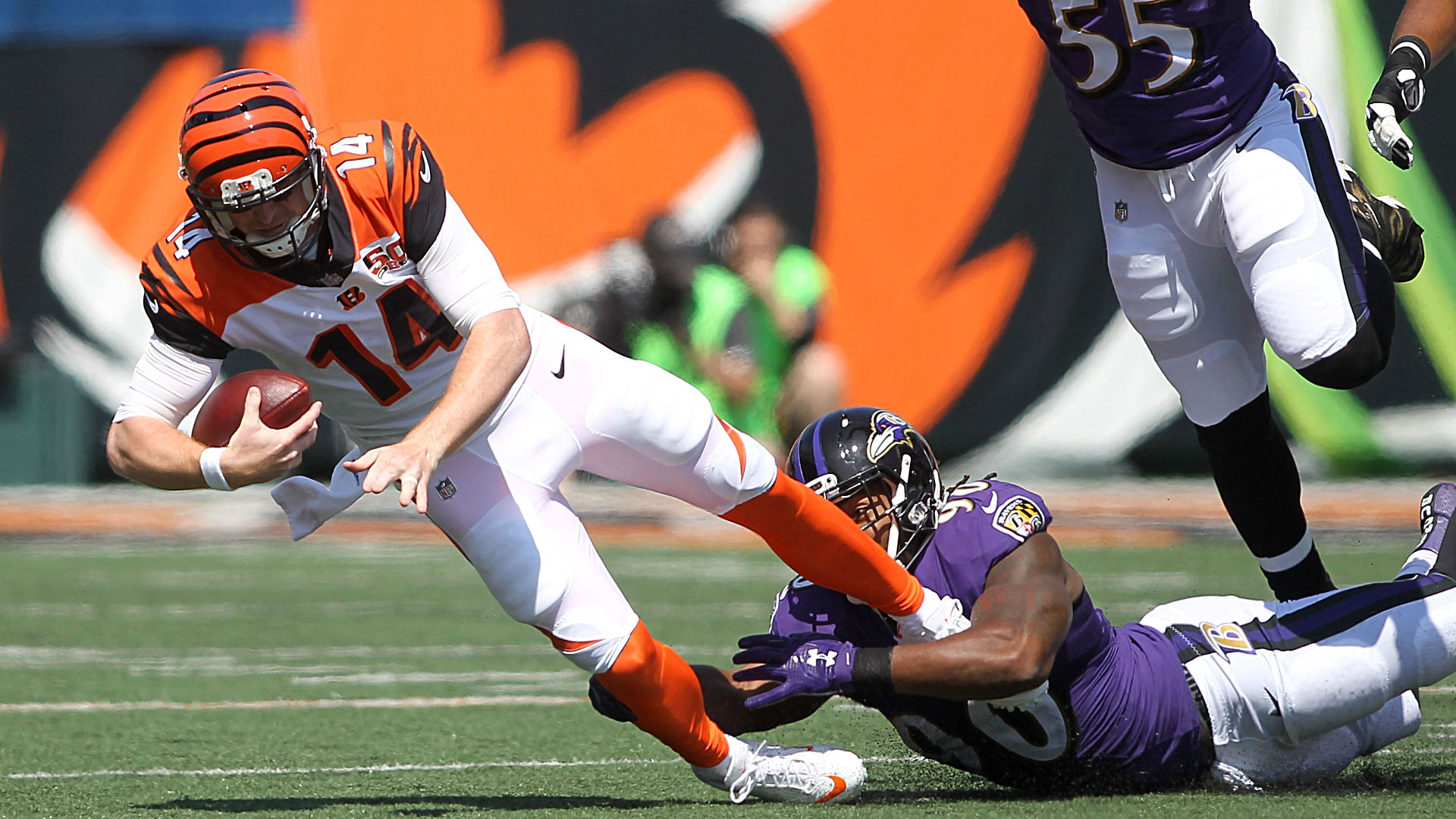 Bengals' Andy Dalton historically atrocious in shutout loss to Ravens