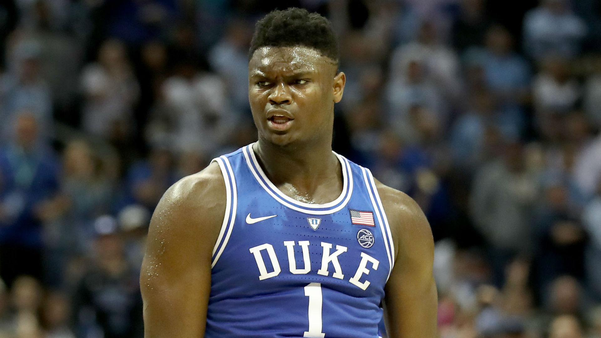 Zion Williamson puts on a show as Duke nips rival North Carolina