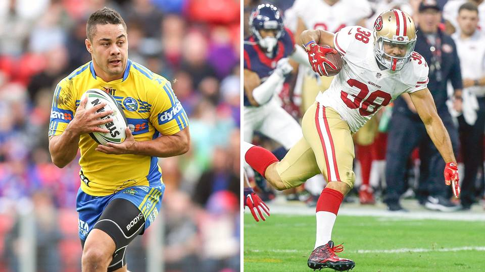 6cb090753 49ers  Jarryd Hayne can break down door from rugby to NFL