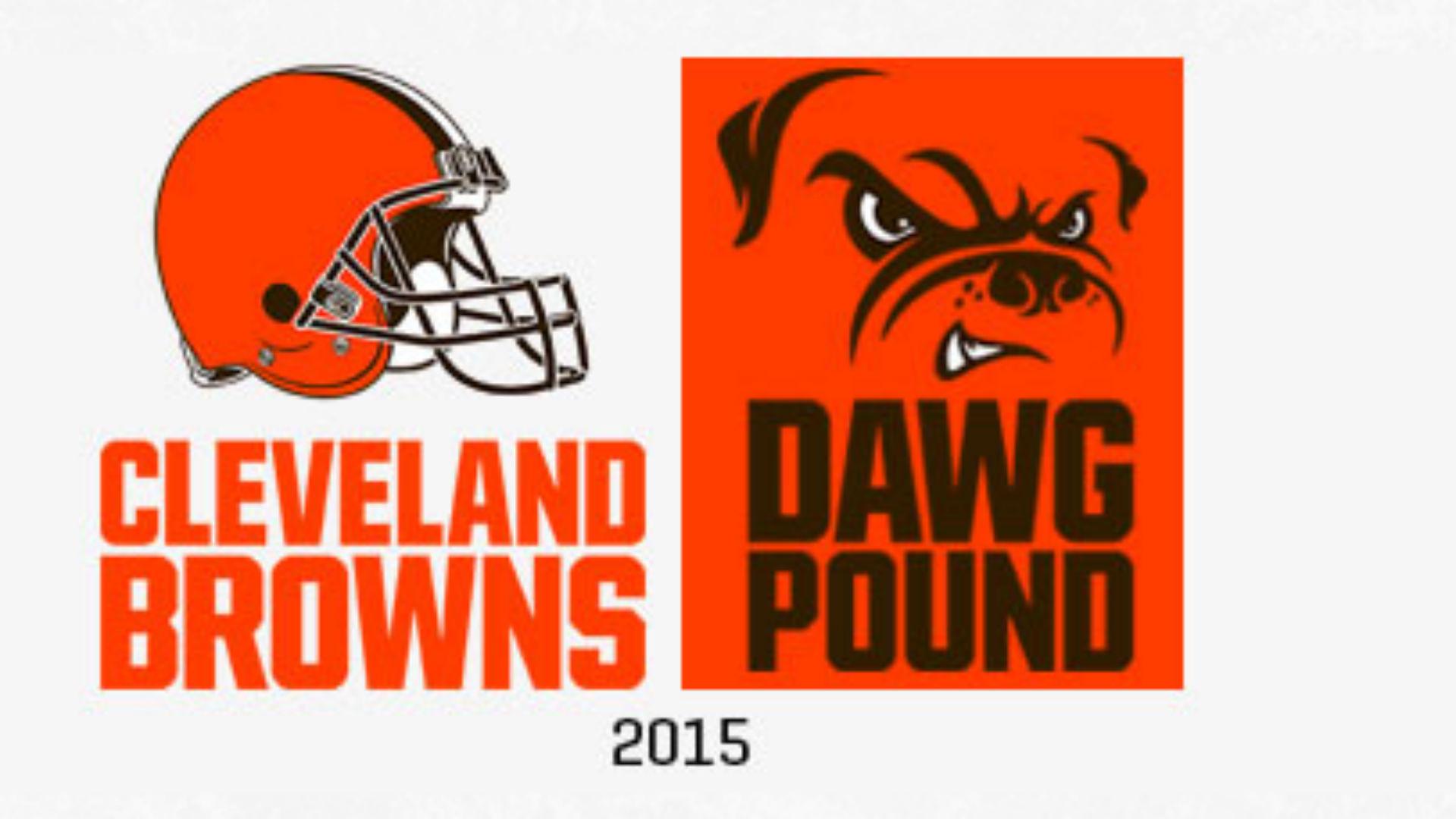 New Browns Logo Orange Helmet