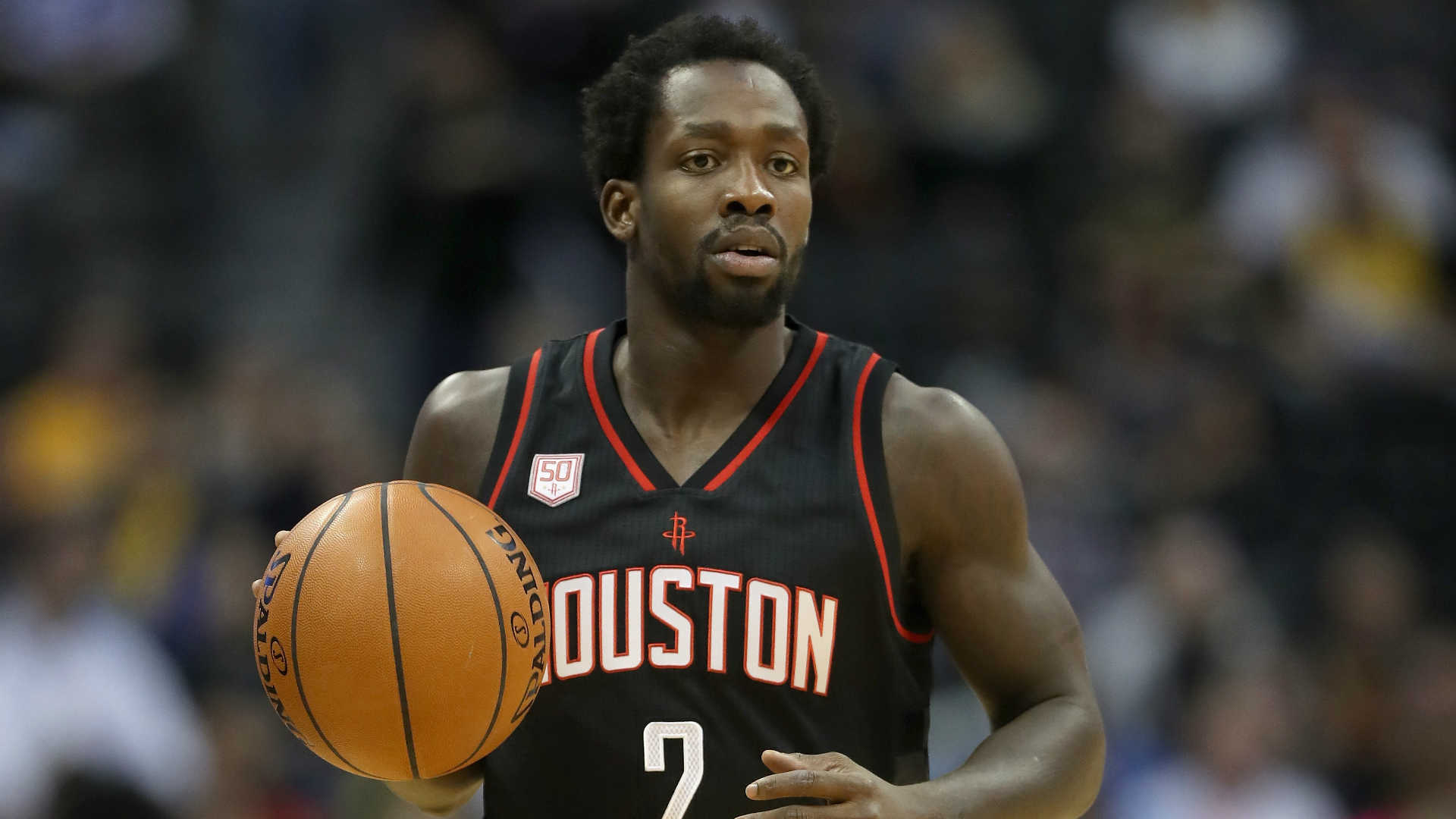 Thunder knock Rockets guard Beverley down, but not out