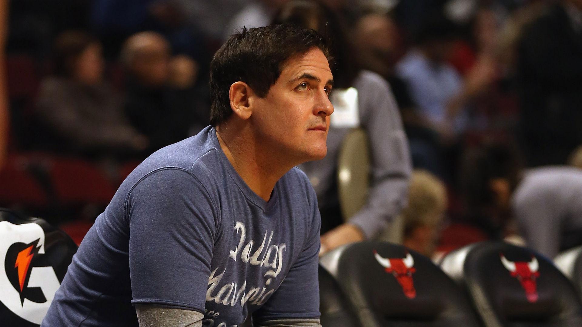 Mark Cuban teases Donald Trump again at NBA Celebrity All-Star Game
